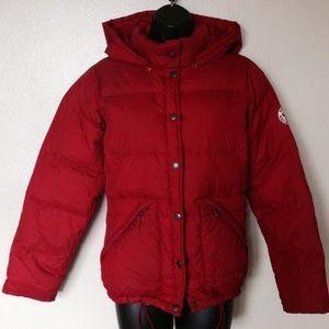 Ralph Lauren Polo Red Puffer Jacket, XS